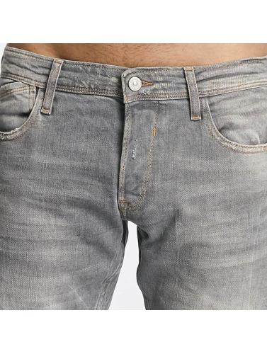 Le Temps Des Cerises Herren Straight Fit Jeans 711 Basic in grau