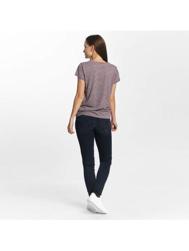 Le Temps Des Cerises Damen T-Shirt Basitrame in violet