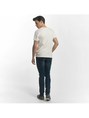 Le Temps Des Cerises Herren T-Shirt Jack in weiß