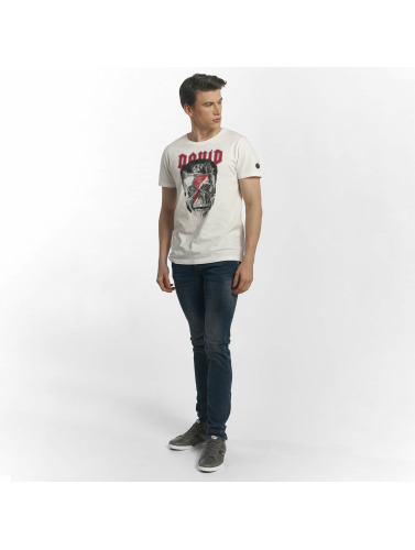 Le Temps Des Cerises Herren T-Shirt Pick in weiß