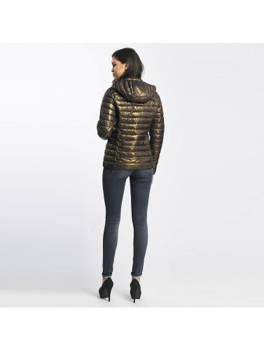Le Temps Des Cerises Ladies Transition Jacket Icyfoil In Gold
