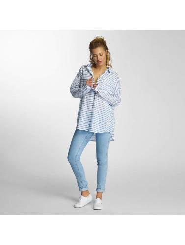 Lee Damen Bluse Elongated in blau Für Günstig Online Kühl Einkaufen Billig Verkauf Kauf vsEJMRqG