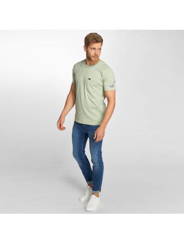 Lee Hombres Camiseta Pocket in verde