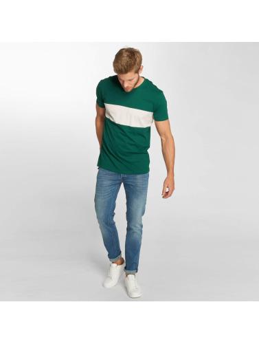Lee Hombres Camiseta Blocking in verde