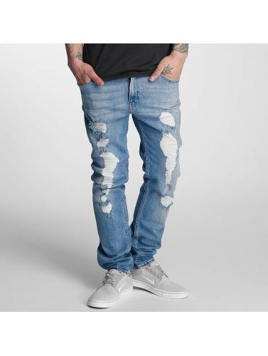 Lee Hombres Jeans ajustado Rider in azul