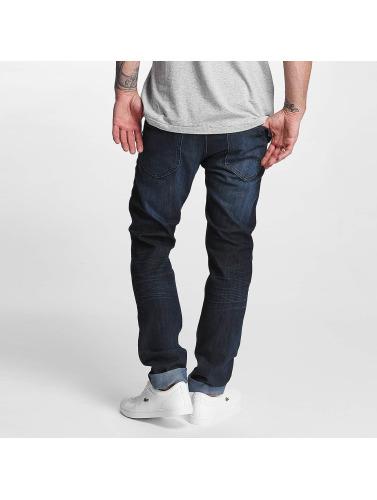 Lee Hombres Jeans ajustado Luke in azul