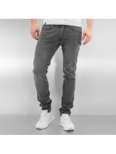 Lee Hombres Jeans ajustado Luke in negro