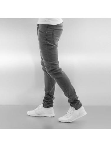 Lee Hombres ajustado Luke Jeans in negro rzwqrdvS