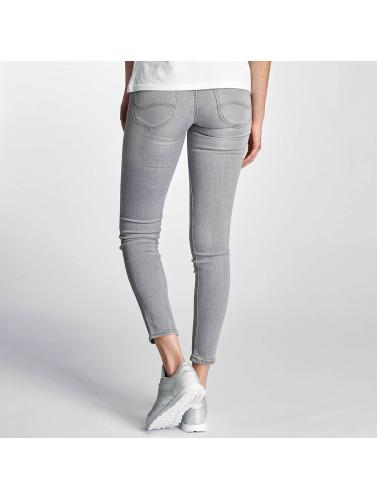 Lee Damen Skinny Jeans Scarlett in grau
