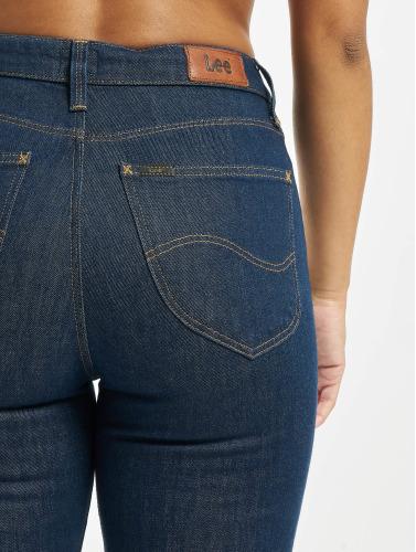 Lee Damen Slim Fit Jeans Mom in blau