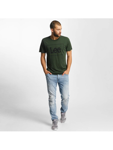 Lee Herren T-Shirt <small>                                                                     Lee                                                                 </small>                                                                 <br />                                                                  in grün
