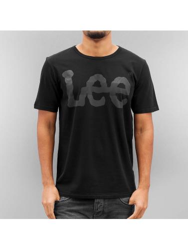 Lee Herren T-Shirt Seasonal Logo in schwarz