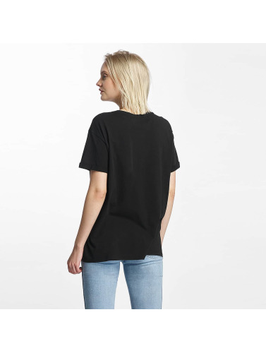 Lee Damen T-Shirt Logo in schwarz