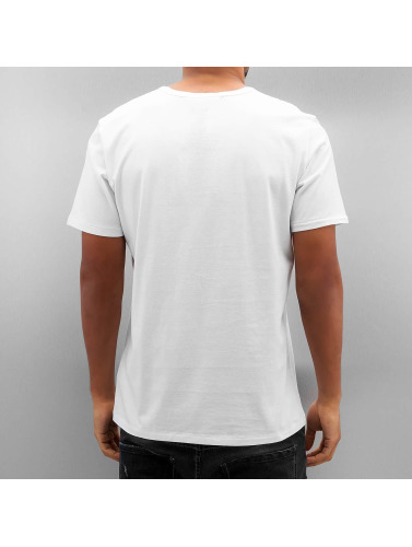 Lee Herren T-Shirt Seasonal Logo in weiß