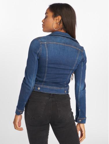 Lee Damen Übergangsjacke Slim Rider in blau