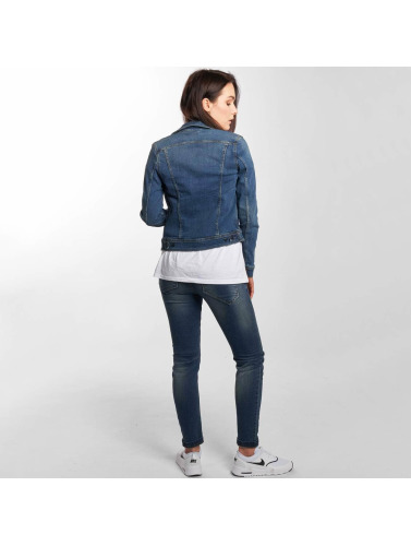 Lee Damen Übergangsjacke Slim Rider in blau