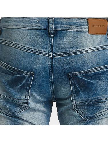 Leg Kings Hombres Jeans ajustado Fritz in azul