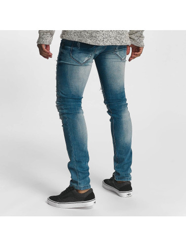 Leg Kings Hombres Jeans ajustado Kayden in azul