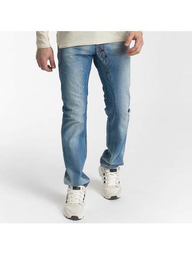 Leg Kings Hombres Jeans ajustado Nico in azul