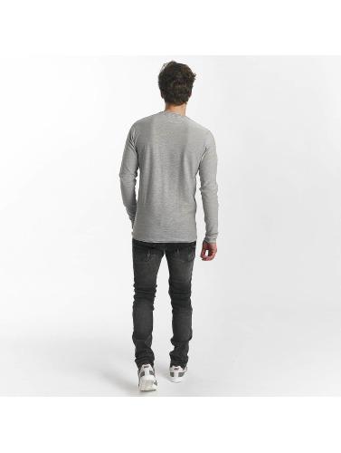 Leg Kings Hombres Jeans ajustado Enzo in gris