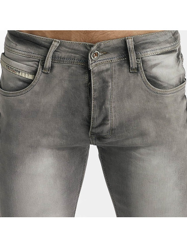 Leg Kings Hombres Jeans ajustado Washed in gris