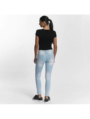 Leg Kings Damen Skinny Jeans Lantis in blau