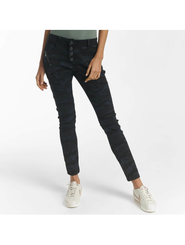 Leg Kings Damen Skinny Jeans Mojo in blau