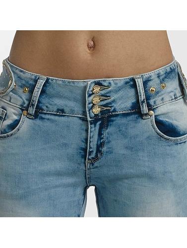 Leg Kings Damen Skinny Jeans Anna in blau