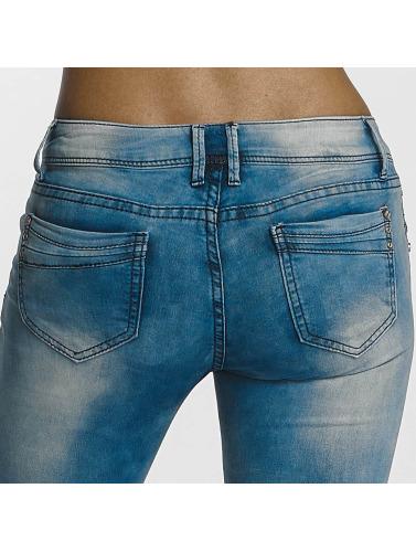 Leg Kings Damen Skinny Jeans Girl Vivi in blau
