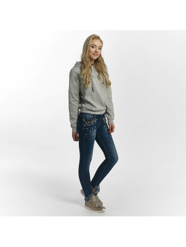 Leg Kings Damen Skinny Jeans Nikita Reality in blau