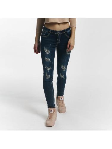 Leg Kings Damen Skinny Jeans Diker in blau