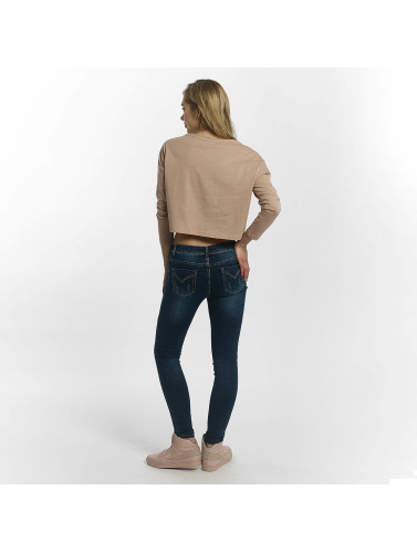 Leg Kings Damen Skinny Jeans Diker in blau