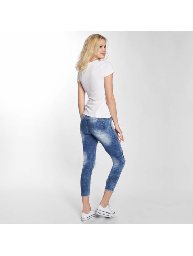 Leg Kings Damen Skinny Jeans Maatana in blau