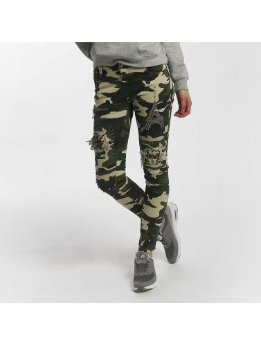 Leg Kings Damen Skinny Jeans Paris in camouflage