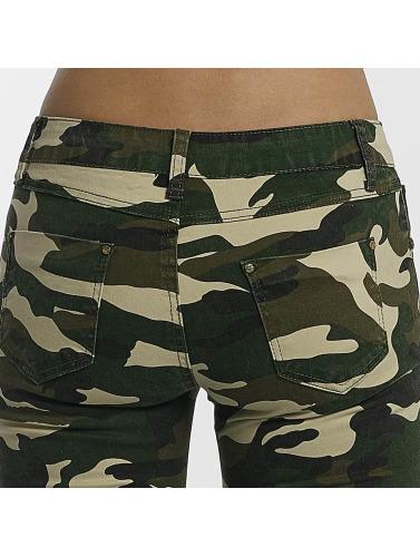 Leg Kings Damen Skinny Jeans Deep Forest in camouflage