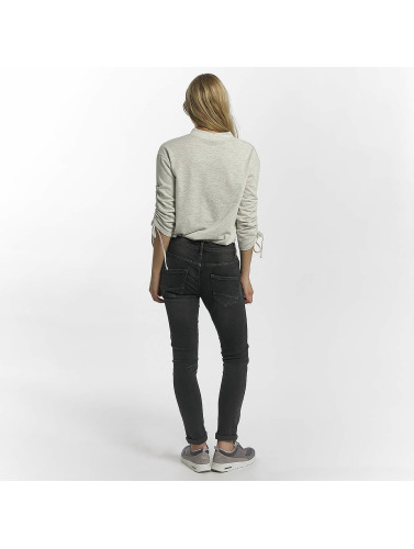 Leg Kings Damen Skinny Jeans Zac Zoe in grau