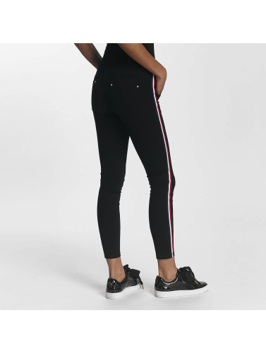 Leg Kings Damen Skinny Jeans LD Style in schwarz