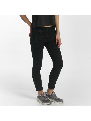 Leg Kings Damen Skinny Jeans Classico in schwarz