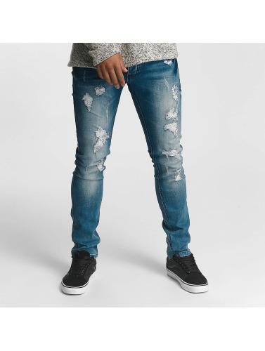 Leg Kings Herren Slim Fit Jeans Kayden in blau