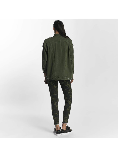 Leg Kings Damen Übergangsjacke Hello Miss in khaki