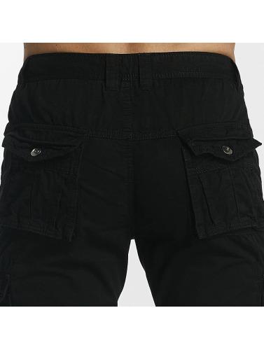 Leg Kings Hombres Vaqueros anchos Bags in negro