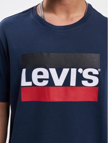 Levis® Hombres Camiseta Sportswear Logo Graphic in azul
