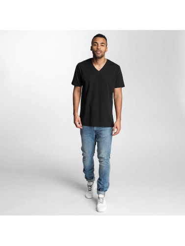Levis® Hombres Camiseta V-Neck in negro