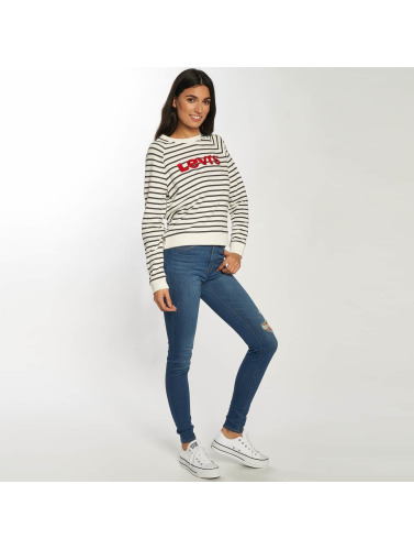 Levis® Mujeres Jersey Relaxed in blanco