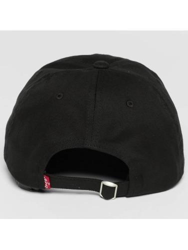 Levi's® Snapback Cap Big Batwing in schwarz