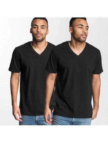 Levi's® Herren T-Shirt V-Neck in schwarz