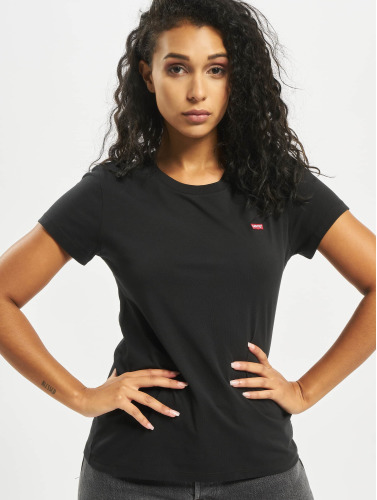 Levi's® Damen T-Shirt Perfect in schwarz