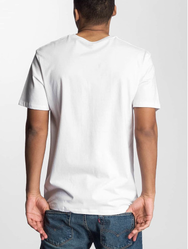 Levi's® Herren T-Shirt V-Neck in weiß