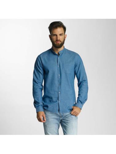 Lindbergh Hombres Camisa With Neps in azul