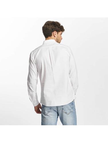 Lindbergh Hombres Camisa Hvit Oxford In Blanco billig pris uttak klaring lav pris ekte siste samlingene ywlmG